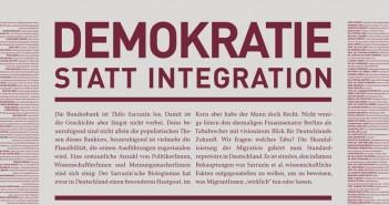 Demokratie statt Integration