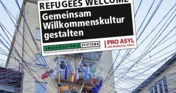 Refugees welcome  © Amadeu-Antonio-Stiftung